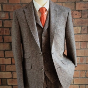 Brown Tweed Suit