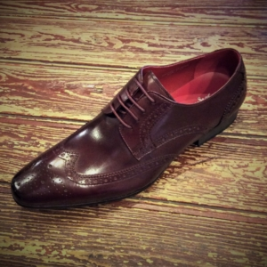 Oxblood Shoes.