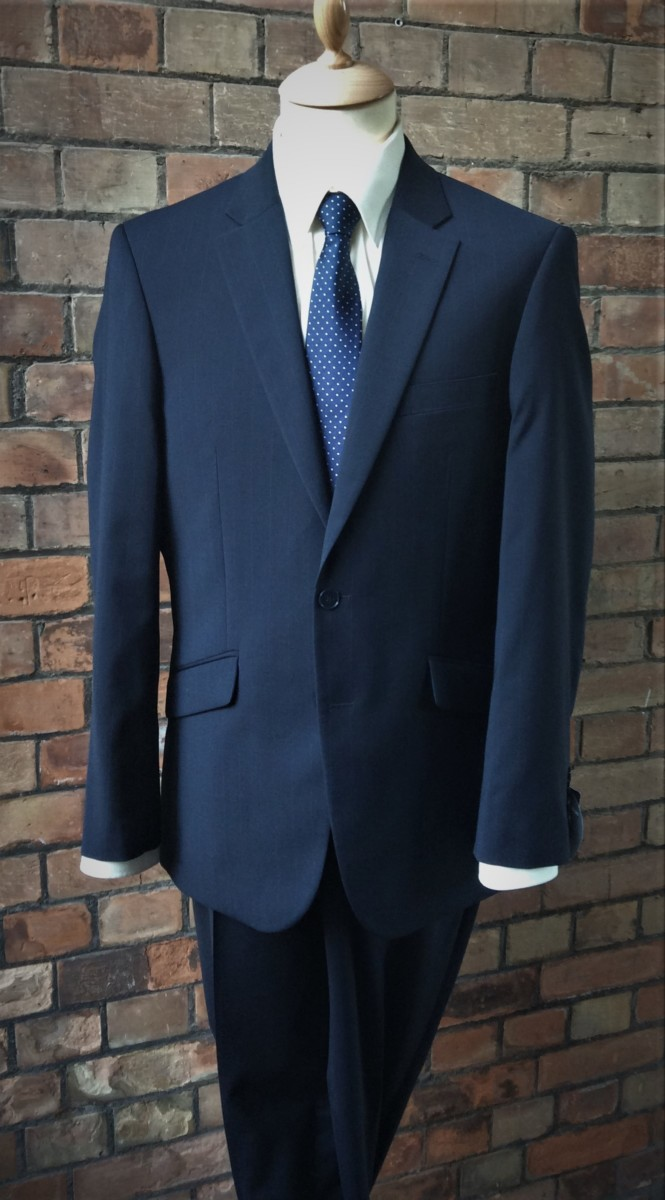 Pinstripe Suit Astaires