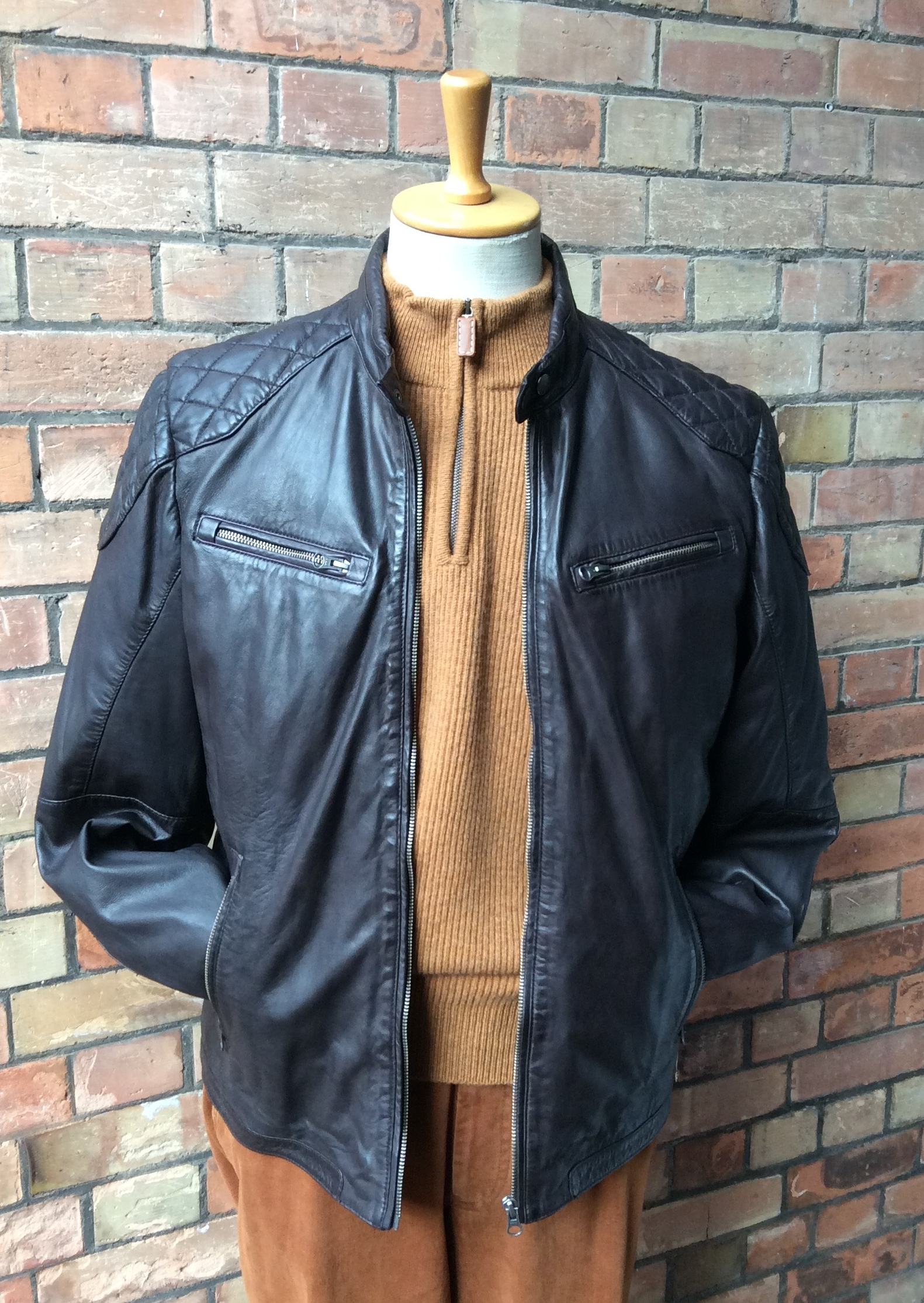 Ready Made Clothing : Leather jacket astaires